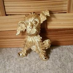 VTG TEXTURED GOLD TONE PUPPY DOG PIN BROOCH Retro Costume, Dog Pin, Gold Texture, Vintage Pins, Brooch Pin, Dogs And Puppies, Costumes, Ebay, Brooch