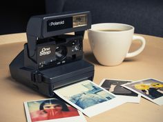 Impossible Polaroid 600 80er-Vintage-Kamera