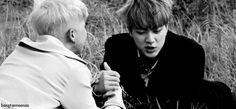 Rap Monster and Jin (Kim Namjoon and Kim Seokjin) de BTS/K-POP (DF) | We Heart It
