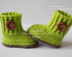 Crochet scarpette per neonati scarpe unisex di EditaMHANDMADE
