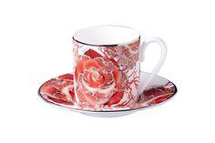 Rose Jewel Expresso Cup | Roberto Cavalli Home #RobertoCavalliInteriors #Tableware #Rose #Jewels #Teacup #RobertoCavalliHomeInteriors #KingsofChelsea #Interiors #InteriorsStylist #Fashion #Style #Lifestyle #DesignInspiration #Design #RobertoCavalli #RobertoCavalliInteriors #DesignBlog #InteriorsBlog #InteriorDesign #FurnitureDesign
