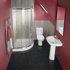 Piasa 900mm Quatrant Shower Suite - Finally, if modernising the master bathroom isn't an option, I'd consider updating our ensuite as again, ours is becoming a little dated