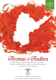 A celebration of culinary gems from the dlightful Andhra cuisine only at #ITCGardenia #food