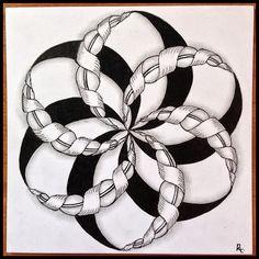 Tangled Tuesday No. 64 - blog post by Laurel Regan at Alphabet Salad.