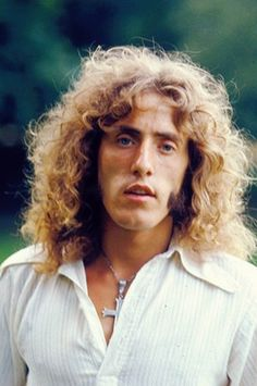 Roger Daltrey, The Who, July 1971: the Who's Next press launch party at Keith Moon's house. Photo by Michael Putland