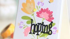 A in-depth look at the Summer Blooms stamp set and a card created using this new builder stamp set available beginning June 5, 2016. Find more on this projec...