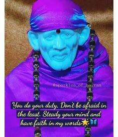 Jai Ram, Sai Baba Miracles, Shirdi Sai Baba Wallpapers, Telugu Inspirational Quotes, Sai Baba Pictures, Sai Baba Quotes, Devotional Quotes, Om Sai Ram, Children In Need