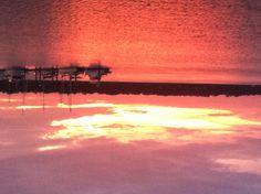 Sunset in Beaufort, SC.