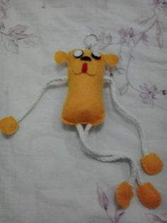 Chaveiro Jake, The Adventure Time, feltro