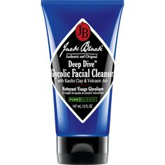Jack Black - Deep Dive Glycolic Facial Cleanser with Kaolin Clay & Volcanic Ash