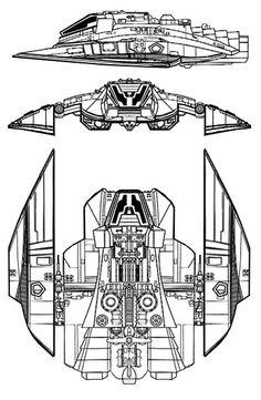 Cylon Raider Recon Model from Battlestar Galactica