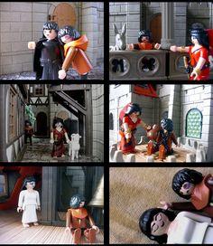 Der Glöckner von Notre Dame von Victor Hugo. Playmobil