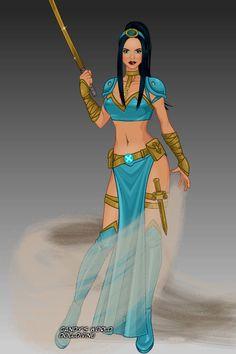 Jasmine [as a warrior] (Drawing by Disney Princess Warriors, Disney Princess Babies, Warrior Princess, Disney Fan Art, Disney Love, Disney And Dreamworks, Disney Pixar, Punk Disney Princesses, Disney Characters