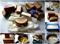 Natural Homemade Honey Soap Recipes