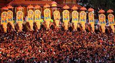 Elephant festival in Trishur