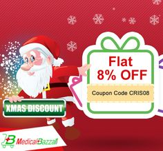 Excellent #Offer is here.Order Now & Get Flat 8% #OFF - http://www.medicalbazzar.com/