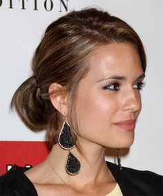 Cut and color? Torrey DeVitto -  Hairstyle - side view