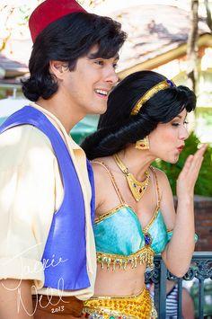 Aladdin and Jasmine on Flickr.