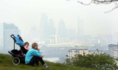 Millions of children in Britain are living with illegal levels of air pollution, figures show Uk Health, Health Tips, Mental Health, About Climate Change, Air Pollution, The Guardian, Wilderness, Britain, New York Skyline