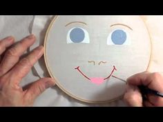 How to Paint a Doll's Face by Cheryl