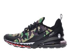 big sale 2036a f7de3 Coussin Dair Officiel Nike Air Max 270 Midnight Chaussures Sportswear Homme  Crocodile vert AH6799-003