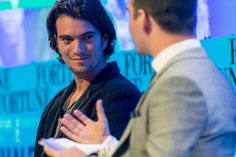 WeWork CEO Talks Revenue, Funding and Community