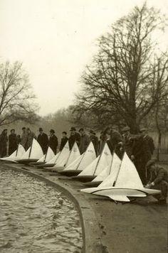 Pond yachts
