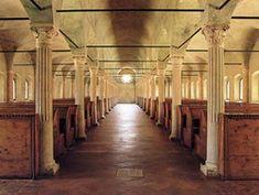 Malatestiana Library in Cesena, Italy
