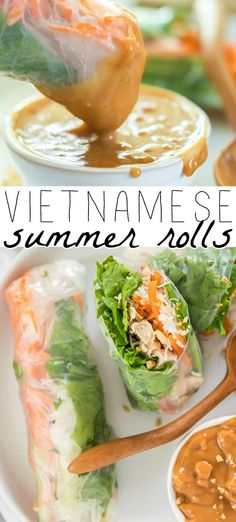 Healthy Spring Rolls, Easy Spring Rolls, Chinese Spring Rolls, Thai Spring Rolls, Vegetarian Spring Rolls, Veggie Spring Rolls, Vietnamese Summer Rolls, Vietnamese Salad Rolls, Thai Summer Rolls Recipe