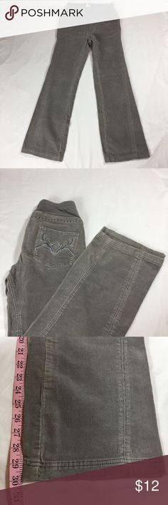 "Motherhood maternity jeans Corduroy pants with a 30"" inseam. The corduroy is not thick or bulky. They are great for the fall, winter and spring. Motherhood Maternity Pants"