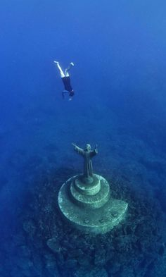 11 Hauntingly Beautiful Underwater Sites