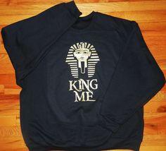 N'Genious Creations - N'GENIOUS CREATIONS EXCLUSIVE KING ME SWEATSHIRT, $45.00 (http://www.ngeniouscreations.com/ngenious-creations-exclusive-king-me-sweatshirt/)