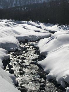#klockerhof #familiekoch #dashotelfürentdecker #zugspitzarena #tirol #winter #schnee Winter Schnee, Snow, River, Outdoor, Zugspitze, Outdoors, Rivers, The Great Outdoors, Eyes