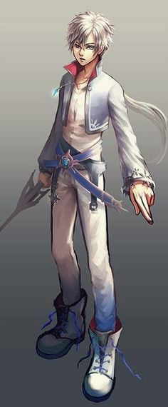 Oooooooh, this is a nice Weiss Schnee genderbend!                                                                                                                                                                                 More