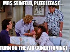 Image result for mrs seinfeld turn the ac on