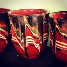 Bułgarskie kubeczki do grzanego wina(?) #jugs #midcenturymodern #bulgarian #pottery #keramik #hotwine #gluhwine