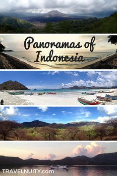 So many gorgeous vistas in Indonesia, I became addicted to using the panorama mode on my iPhone. Here are my favourite shots...