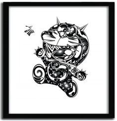"""Domo Arigato"" Art Print Series by Mago"