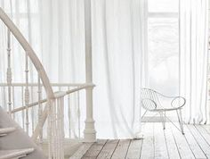 White Linen Curtain Panel-Window Curtain by LinenHomeDecor on Etsy