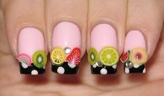 fruit nail art (16)