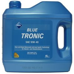 ARAL BLUE TRONIC 10W-40 4L 72 LEI Vascozitate10W-40 Cantitate4L DestinatieMotor Diesel Engine, Lute