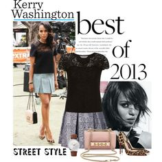 Kerry Washington-Best Celeb Street Style 2013