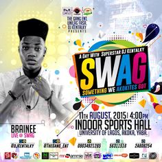 DJ Kentalky Swag! Unilag Swag! Brainee Live at Swag! - Accueillir en Gbetu TV