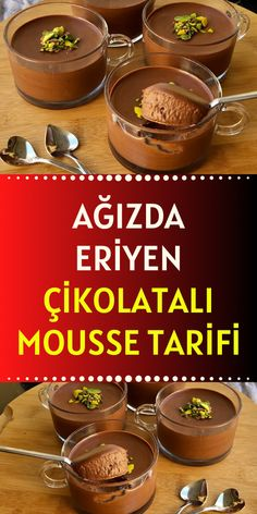 Food Art, Mousse, Deserts, Food And Drink, Tart, Chocolate, Cooking, Breakfast, Food