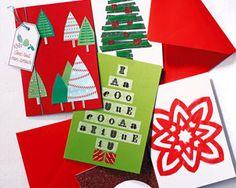 DIY carte de Noël