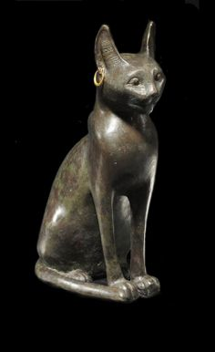 Ancient Egypt bronze cat