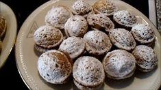 Ořechy plněné krémem Eggs, Breakfast, Youtube, Food, Morning Coffee, Essen, Egg, Meals, Youtubers