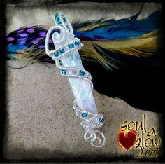 Talisman of the Angels - Angel Aura Quartz by SoulAGlow on Etsy