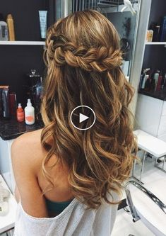 """61 simple hairstyles for long hair and short hair elegant ideas lifestyle woman 2019 44 """"welcomem Prom Hairstyles For Long Hair, Wedding Hairstyles For Long Hair, Quick Hairstyles, Elegant Hairstyles, Pretty Hairstyles, Braided Hairstyles, Short Hair Styles Easy, Natural Hair Styles, Hipster Haircut"""