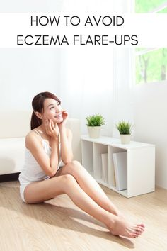 How to avoid eczema flare-ups. Skincare tips for dealing with eczema. MomTrends.com #eczema #skincare #beauty